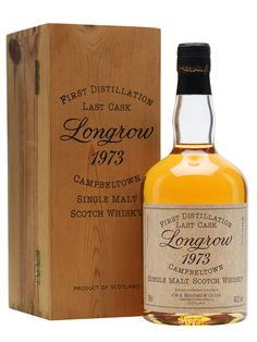 Longrow 1973 / First Distillation Scotch Whisky : The Whisky Exchange
