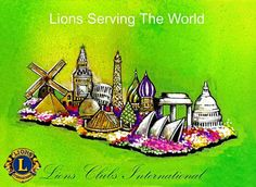 Lions Clubs Float in Tournament of Roses Parade January 1st - http://lionsclubs.org/blog/2012/12/28/look-for-lions-float-in-tournament-of-roses-parade-january-1st/