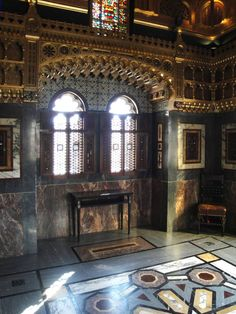 Cardiff Castle Interior, Cardiff, South Wales, by William Burges. Part III: (continued)
