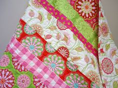 really like this baby girl quilt