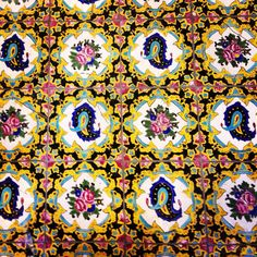 Iranian Architecture Safavid Golestan Palace, Persian Tile, Iranian Architecture, Persian Architecture Islamic Tiles, Islamic Art, Persian Architecture, Persian Pattern, Antique Tiles, Cheap Carpet Runners, Patterned Carpet, Decoupage Paper, New Wallpaper
