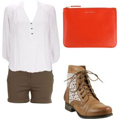 """Think Orange! 2"" by giny9608 on Polyvore"