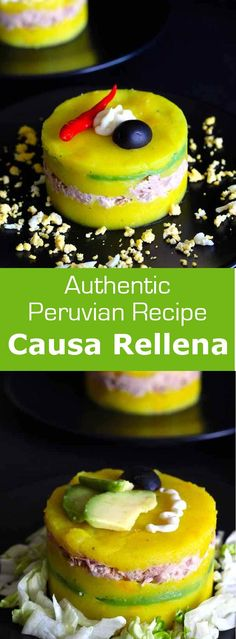Causa rellena is an iconic recipe from Peru that combines lemony and spiced mashed potatoes with tuna or chicken or seafood and…