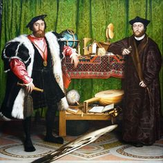 The carpet and the globe: Holbein's The Ambassadors reframed – Smarthistory The Tudors, Canvas Art, Canvas Prints, Art Prints, Renoir, Hans Holbein The Younger, Portraits, Portrait Paintings, Princess Elizabeth
