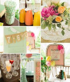 Top 5 2014 Trending Girly Vintage Bridal Shower Ideas