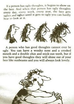 What makes someone beautiful by Roald Dahl - The Twits