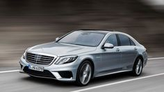 The new S 63 AMG.
