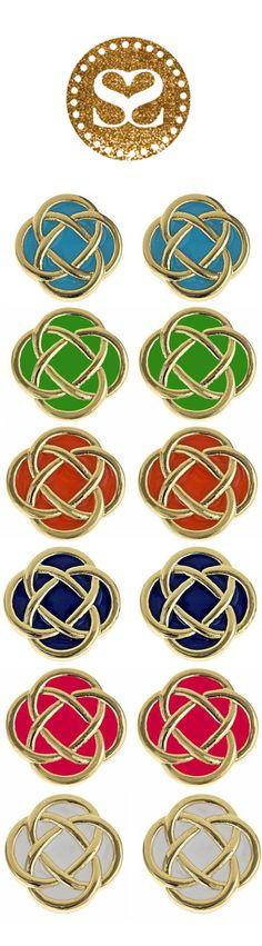 Murphy Celtic Knot Earrings SwellCaroline.com $25
