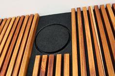Olive Green: DIY acoustic slat wall