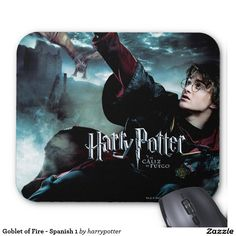 Goblet of Fire - Spanish 1 Mouse Pad