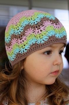 25 new Ideas crochet headband diagram english Crochet Kids Hats, Crochet Beanie Hat, Baby Girl Crochet, Knitted Hats, Bonnet Crochet, Crochet Cap, Crochet Stitches, Crochet Designs, Crochet Patterns