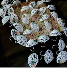 Best 12 Exquisite Butterfly Lace Applique Trim In White For DIY Home Party Decoration, Costume Design, Sewin – SkillOfKing.Com Best 12 Exquisite Butterfly Lace Applique Trim In White For DIY Home Party Decoration, Costume Design, Sewin – SkillOfKing. Doilies Crafts, Lace Doilies, Crochet Doilies, Crochet Flowers, Crochet Christmas Ornaments, Beaded Ornaments, Christmas Crafts, Christmas Bells, Diy Crafts Crochet
