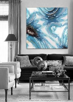Christian Art-Listen And Be Secure. Versevisions inspirational art by Mark Lawrence. Artist Direct- Original limited edition signed canvas and paper giclees