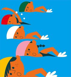 Playful child-like illustrations. Inspiration for perhaps a children's book?