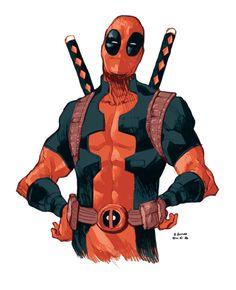 westcoastavengers:  Deadpool | Bruno Oliveira
