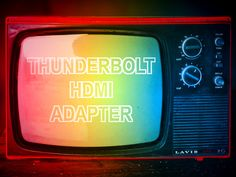 Anleitung: Mac per Mini-DisplayPort-auf-HDMI-Adapter an einen Fernseher anschließen