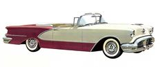 1956 Oldsmobile 98 convertible