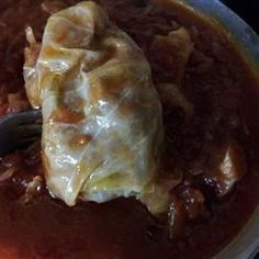 Sweet and Sour Stuffed Cabbage - Allrecipes.com