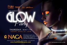 NAGA  presents *GLOW* join the city's sexiest crowd with florescent neon glow sticks, live body paint with Smokehouse Media and black lights!    Music by @DJ Say and DJ Rasbean     Naga Night Club  450 Massachusetts Ave.  Cambridge, MA 02139      Tables/Info - Bottle Specials available, contact alex@nagacambridge.com or 617.955.4900     Website: www.nagacambridge.com  Like us on Facebook: Naga  Follow us on Twitter: nagacambridge