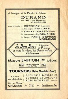 Publicité pour le cotignac ! Archives d'Orléans