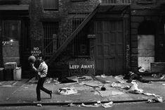"""retronewyork: The Bowery 1967 photo by Richard Kalvar """