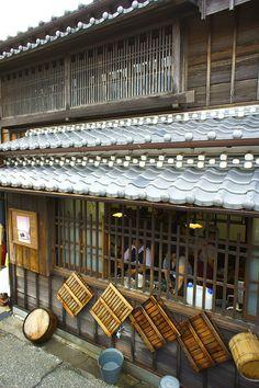 Noodle shop, Japan