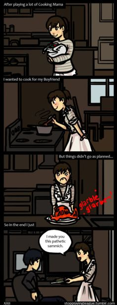 Cooking Mama was such a good game …until I learned it was a lie! (≧Д≦)ノ