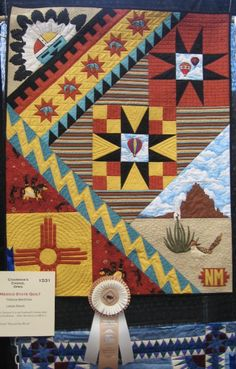 New Mexico State Quilt