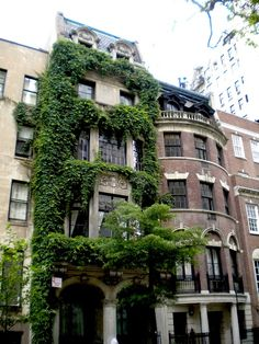 Ivy-Clad Townhouse, Summer 2010 #new york city  #townhouse   #upper east side