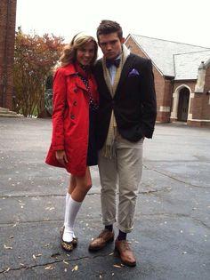 Chuck and Blair Halloween costume