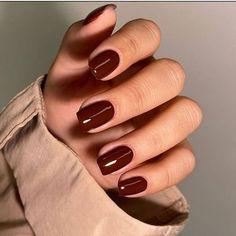 Stylish Nails, Trendy Nails, Cute Nails, Fall Gel Nails, Winter Nails, Autumn Nails, Milky Nails, Nagellack Design, Spring Nail Colors