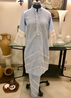 Fancy Prom Dresses, Stylish Dresses For Girls, Stylish Dress Designs, Frocks For Girls, Pakistani Dresses Casual, Pakistani Dress Design, Biryani Recipe, Plain Shirts, Indian Suits