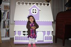 Barbie house DIY design.