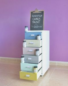 Nuevo D.I.Y con Autentico Chalk Paint