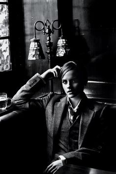 Emma Watson, T magazine: NY times Source | Women in Suits 42