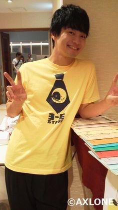 福山潤 Jun Fukuyama, Beautiful Voice, Voice Actor, Anime Manga, The Voice, Polo Ralph Lauren, Actors, T Shirts For Women, Jun Jun