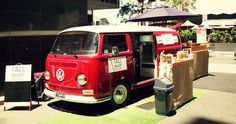 Tall Short espresso van, Brisbane. Another funky VW Combi fit out. Great set up.