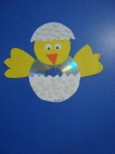 cd chick craft | Crafts and Worksheets for Preschool,Toddler and Kindergarten