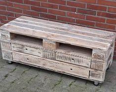 Wandregale Weinregal aus Palettenholz (abgesetztes Brett