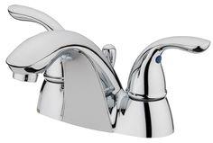 Ferrara Centerset Bathroom Faucet with Double Handles