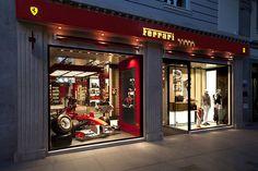 Ferrari store by Iosa Ghini Associates Madrid 06 Ferrari store by Iosa Ghini Associates, Madrid