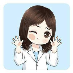 Medical Illustration Doctor 25 Ideas For 2019 Nursing Wallpaper, Medical Wallpaper, Girl Wallpaper, Cute Cartoon Girl, Cartoon Art, Nurse Art, Anime Muslim, Medical Art, Medical Doctor