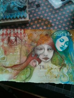 The art of Suzi Blu. I absolutely LOVE this piece!