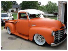 Satin Tangerine 49'-51' Chevy 3100