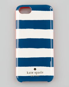 new case for summer? kate spade new york colorblock stripe iPhone 5 case - Neiman Marcus