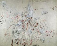 Cy Twombly - Hero and Leander 1962 reproduction oil painting