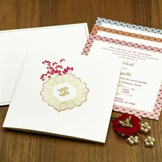 Wedding Stamp 50x50 Beauty Simplicity