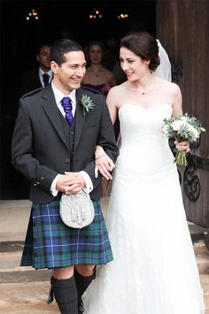 Wedding in Dunblane Cathedral