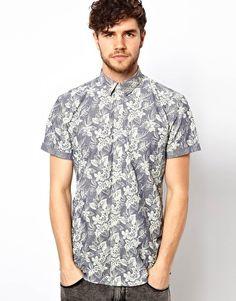 Minimum Shirt with Floral Print @dialtone wasdumb