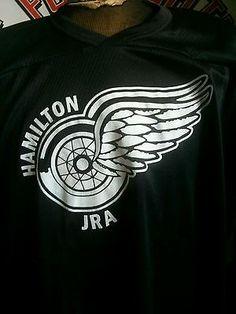 Hamilton JrA Redwings Game Worn practice Jersey GTHL OHA defunct team Cam Talbot